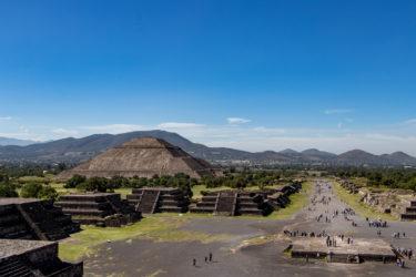 【メキシコ世界遺産】テオティワカンのピラミッドで神秘のパワーを感じよう!