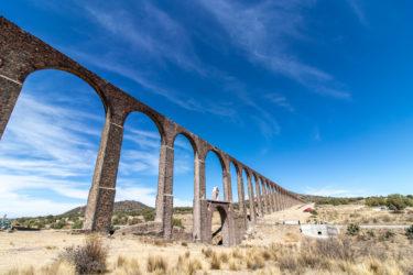 【メキシコ世界遺産】Acueducto del Padre Tembleque パドレ・テンブレケ水道橋