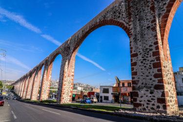 【メキシコ世界遺産】ケレタロ 歴史地区の水道橋は圧巻!!