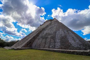 【メキシコ世界遺産】魔法使いのピラミッド|古代都市ウシュマル