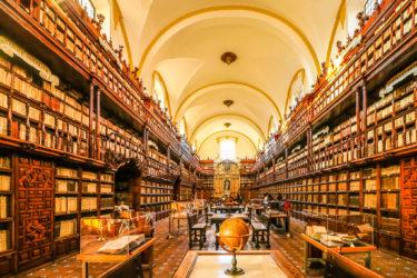 アメリカ大陸最古の公共図書館! Biblioteca Palafoxiana | メキシコ プエブラ