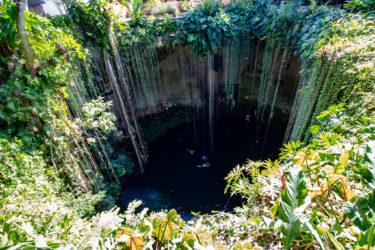 神秘の泉 セノーテ・イキル(Ik-Kil)|透明度、行き方、他のセノーテとの違いなど
